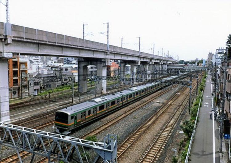 東北、上越新幹線と京浜東北、宇都宮線、高崎線