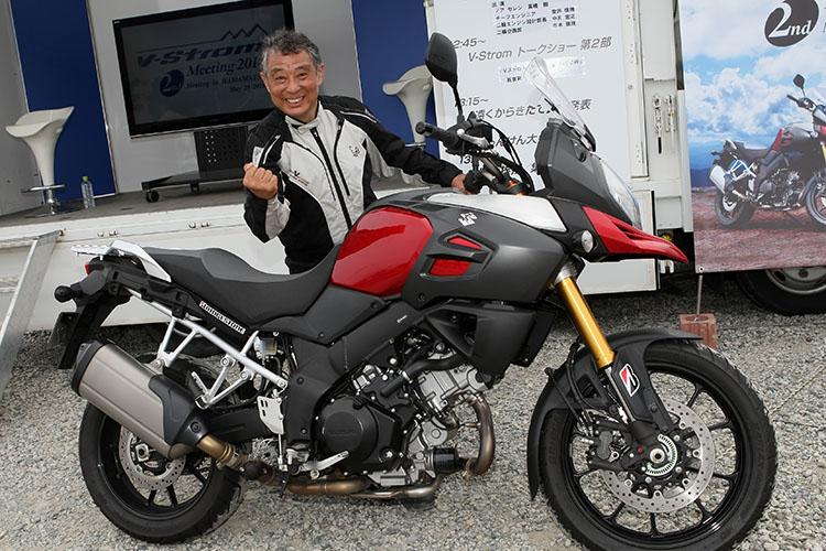 バイク旅の神様的存在、冒険家の賀曽利隆さん、Vストローム1000ABSで再び新たな旅へ。