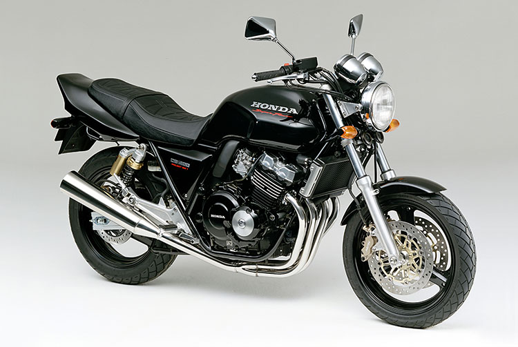 CB400SUPER FOURブラック