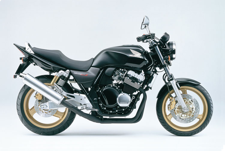CB400SUPER FOUR ブラック
