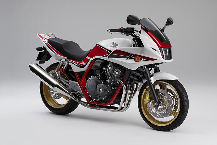 CB400SUPER BOL D'OR Special Edition パールサンビームホワイト(トリコロール)