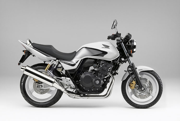 CB400SUPER FOUR Special Edition パールサンビームホワイト(トリコロール)