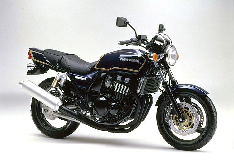 ZRXⅡ(ZR400-F6) メタリックノクターンブルー