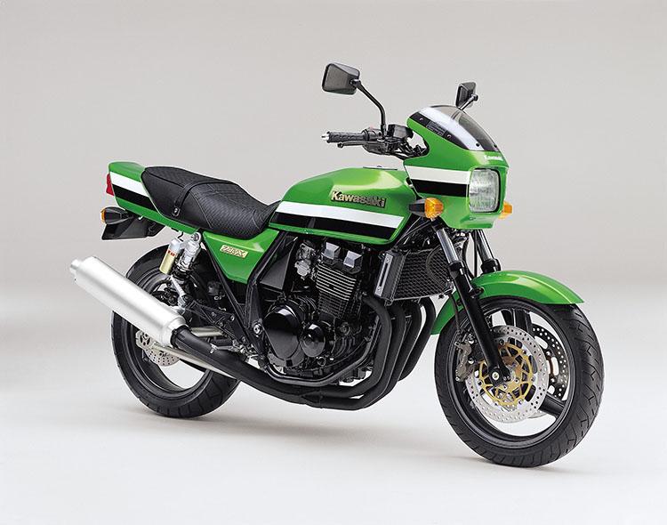 ZRX(ZR400-E8) ライムグリーン