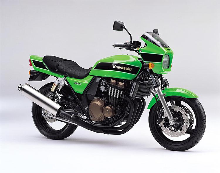 ZRX (ZR400-E10) ライムグリーン