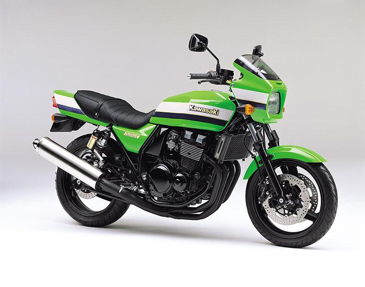 ZRX (ZR400-E8F) ライムグリーン