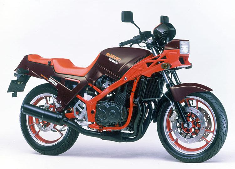 GSX-400X IMPULSE エンペラー・ブラウンメタリック※