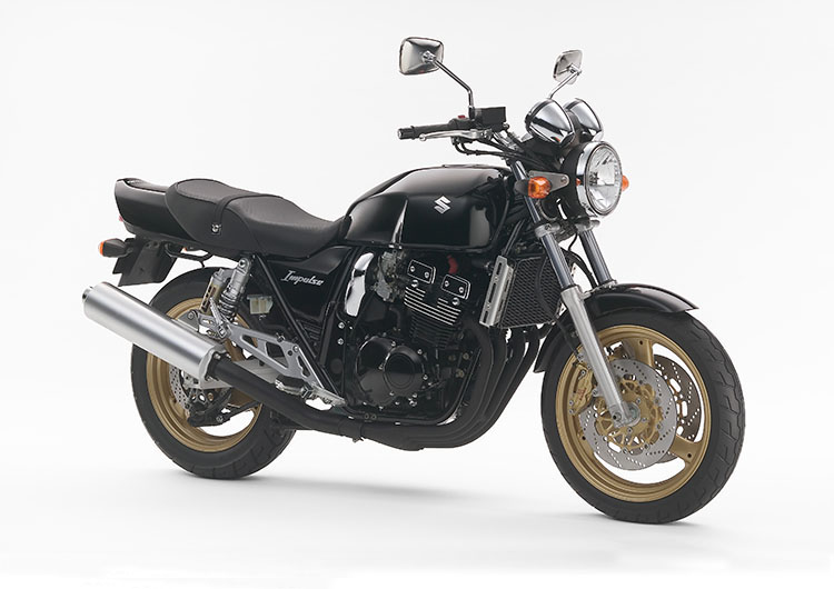 GSX400IMPULSE パールネブラーブラック