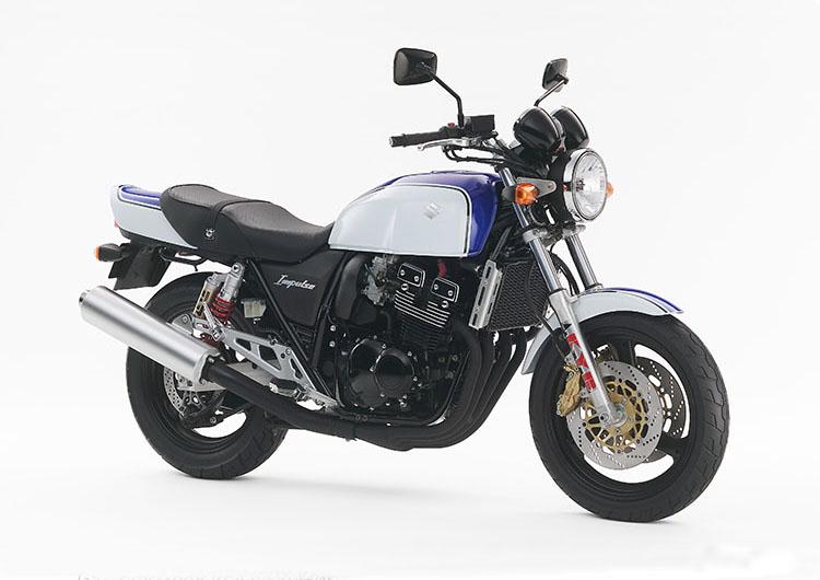 GSX400IMPULSE グラススプラッシュホワイト×パールスズキミディアムブルーNo.2
