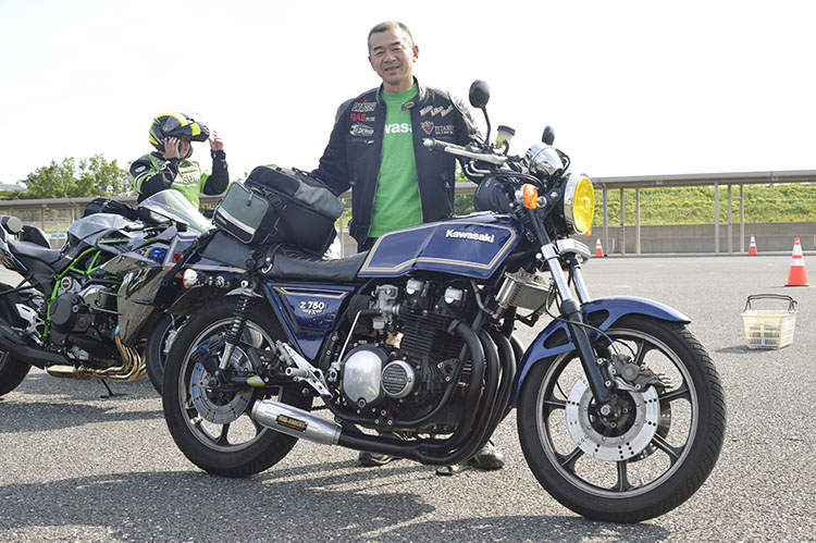 辻 輝美さん Z750FX