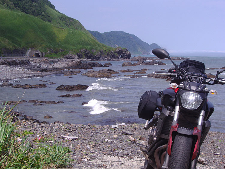襟裳岬の道道からR336
