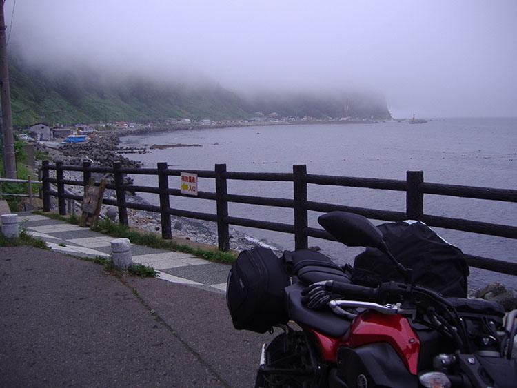 知床半島の東南側