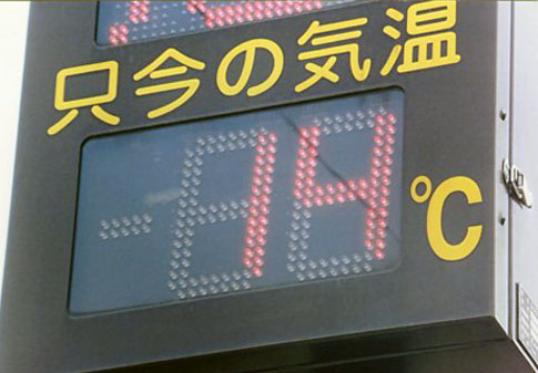 気温14℃