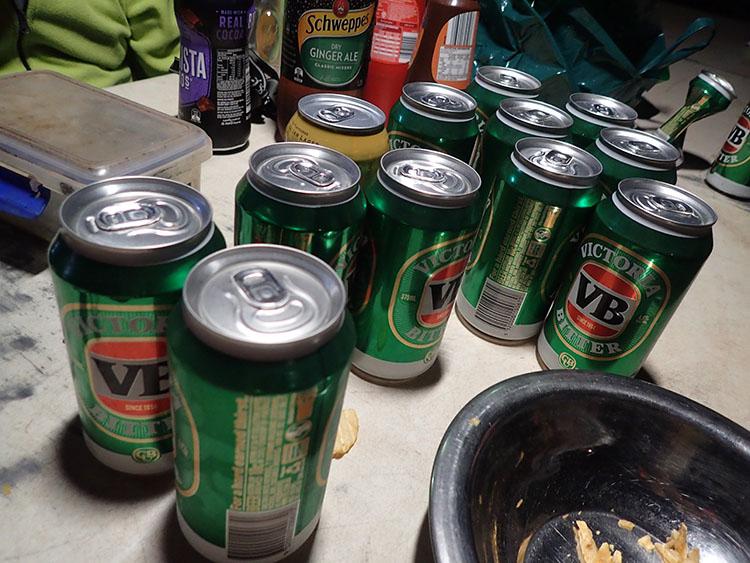 12もちろんビールも