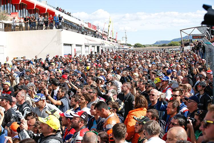 開幕戦となったポールリカール・サーキットには、24時間という長丁場のレースを楽しむ多くのファンが訪れる