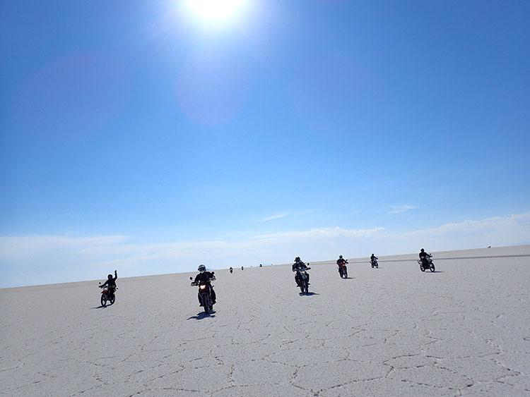 6これがウユニ塩湖だー!