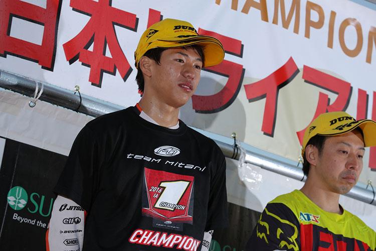 IAチャンピオンの久岡孝二選手