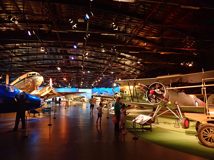 7こちらは空軍博物館