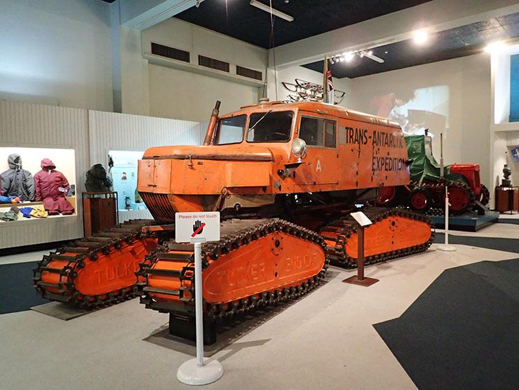 9カンタベリー博物館の南極探検コーナー
