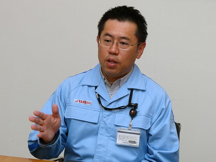 ヤマハ発動機 技術本部MS開発部モトGPプロジェクロリーダー・津谷晃司氏