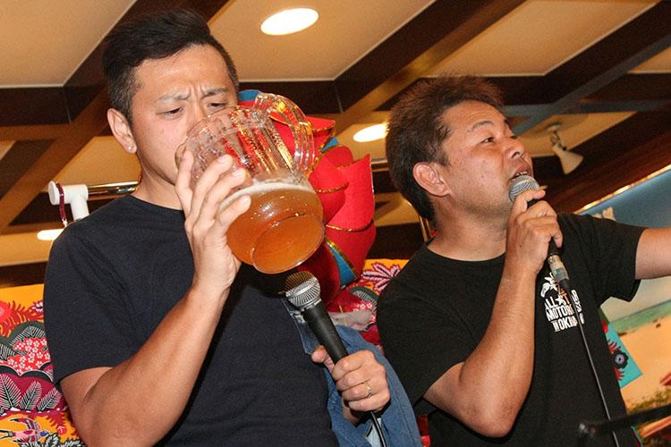 松田、成田選手