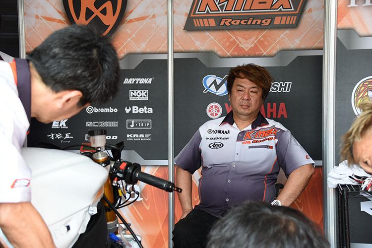 芳賀健輔チーム代表兼監督