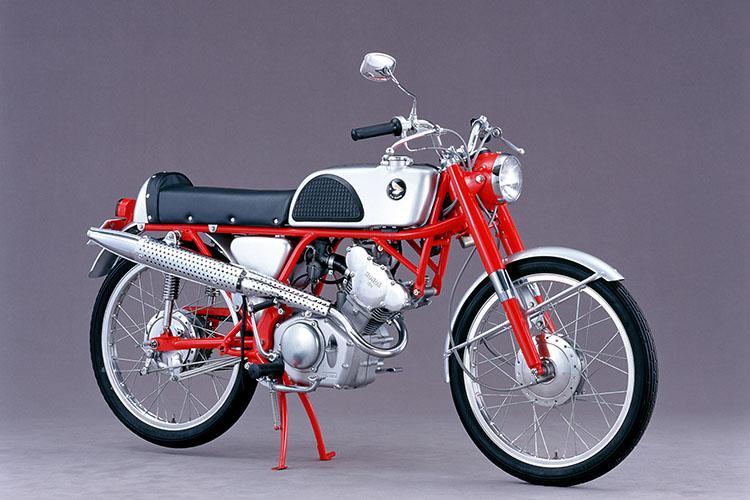 1962年 HONDA レーシングカブCR110