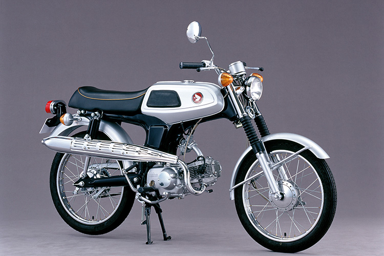 1967年 ベンリイSS50
