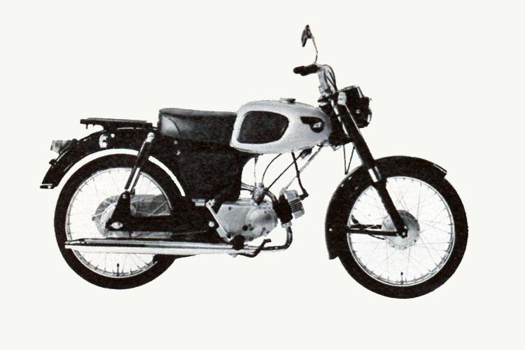 1960年 Kawasaki M10