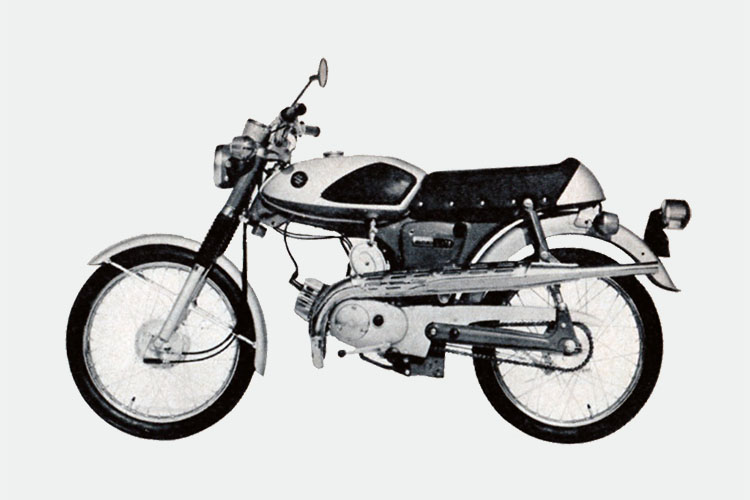 1965年 SUZUKI AS50