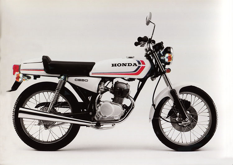 1976年2月 ベンリイCB50JX-Ⅰ セラミックホワイト