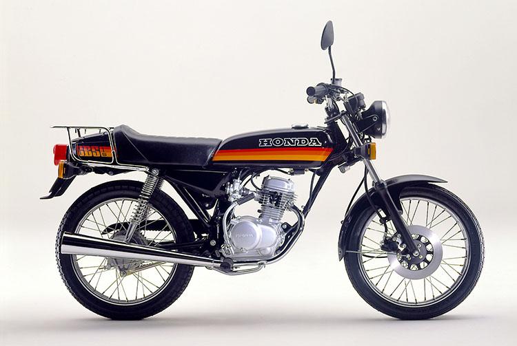 1980年2月 CB50S ブラック