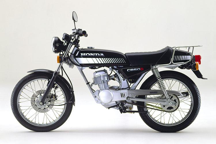 1981年2月 CB50Sブラック