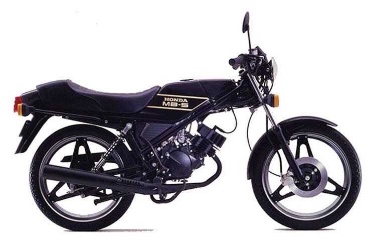 1979年4月 MB50 ブラック