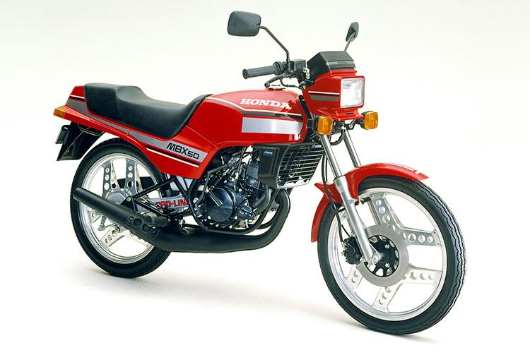1982年3月 MBX50 モンツアレッド