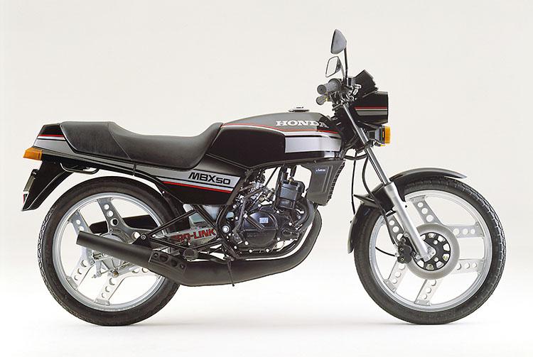 1982年3月 MBX50 ブラック
