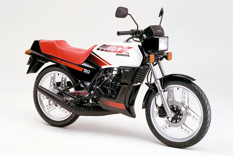 1984年4月 MBX50シャスタホワイト