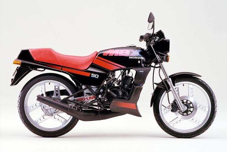 1984年4月 MBX50 ブラック