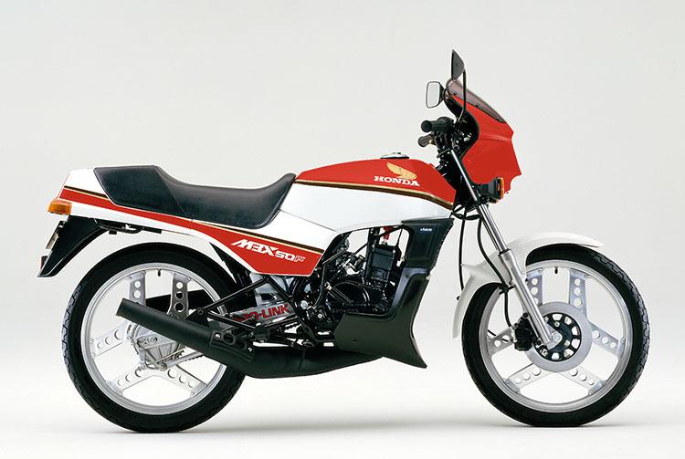 1985年11月 MBX50F ルミナスレッド