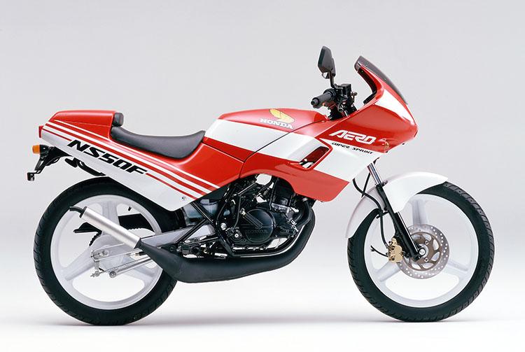 1987年2月NS50Fエアロ ファイティングレッド