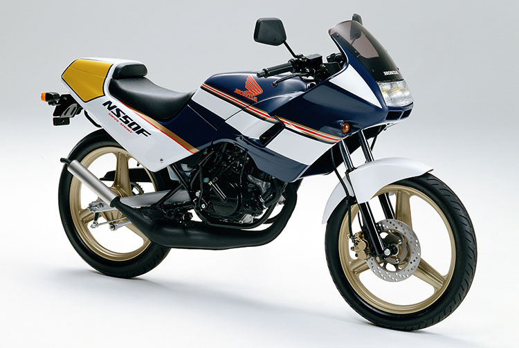 1989年2月 NS50F ロスマンズカラー