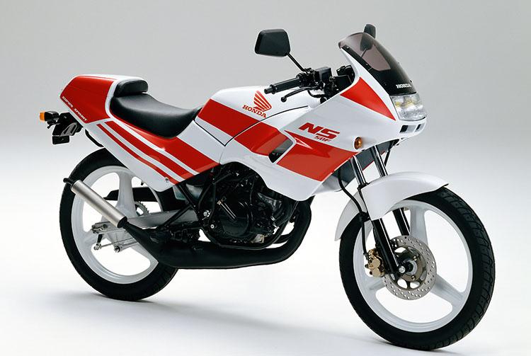 1989年2月NS50F ロスホワイト