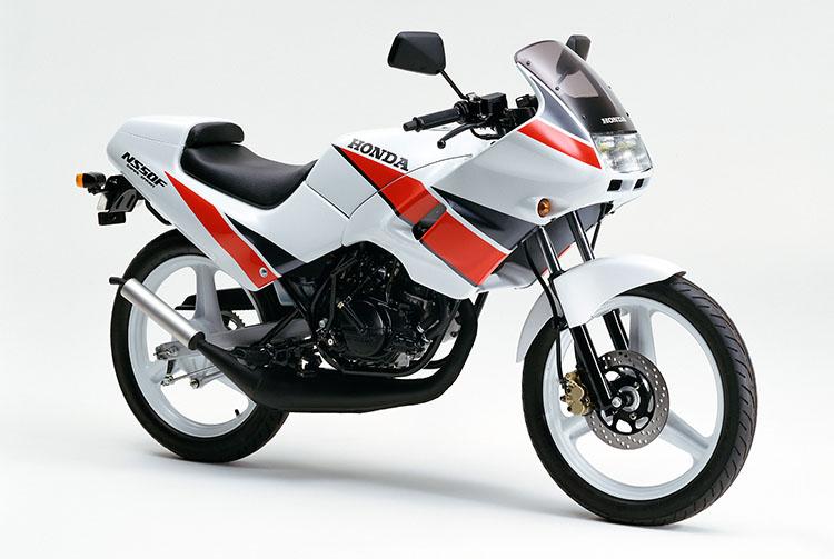1990年2月NS50F ロスホワイト
