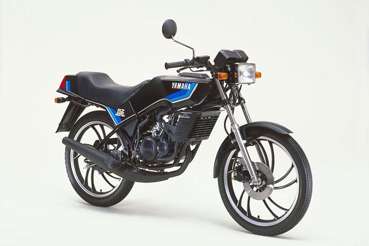 1981年6月 RZ50 ヤマハブラック