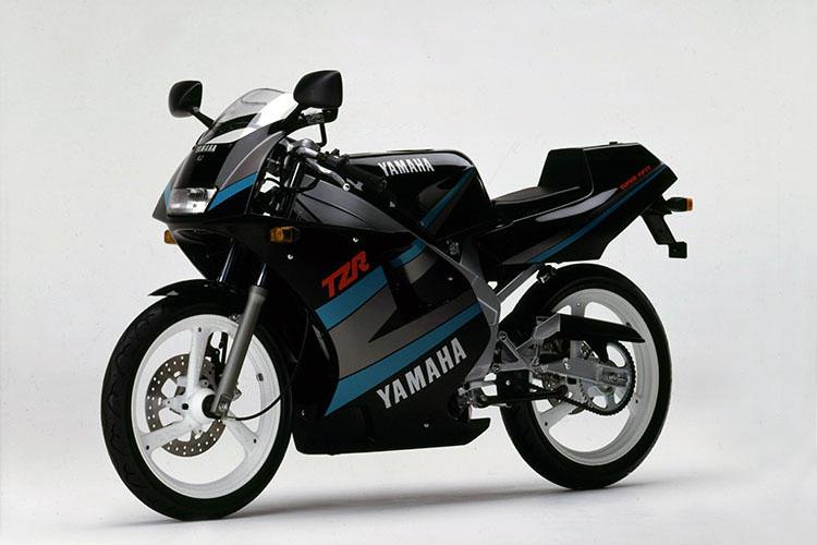 1990年2月 TZR50(3TU1) ヤマハブラック