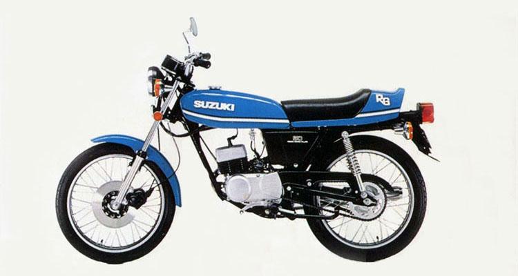1977年1月 RG50 ストレートブルー