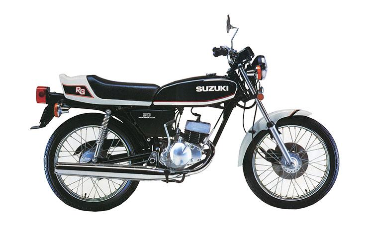 1978年4月 RG50 ブラック