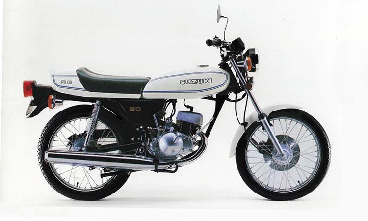 1979年10月 RG50 イーグレットホワイト