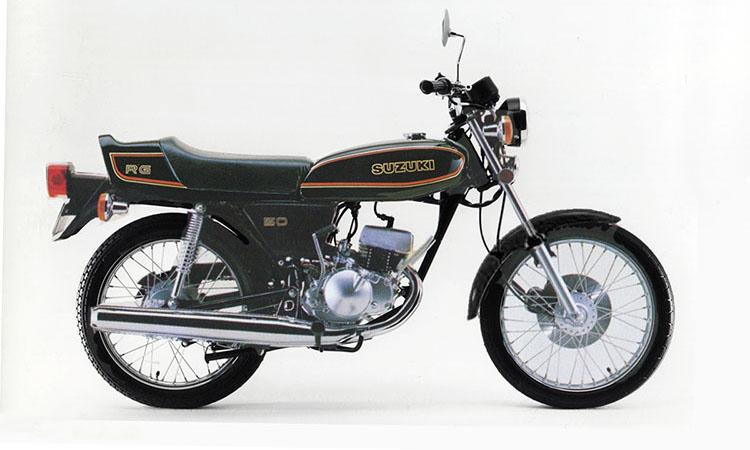 1979年10月 RG50 ブラック