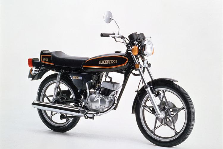 1979年2月 RG50E ブラック